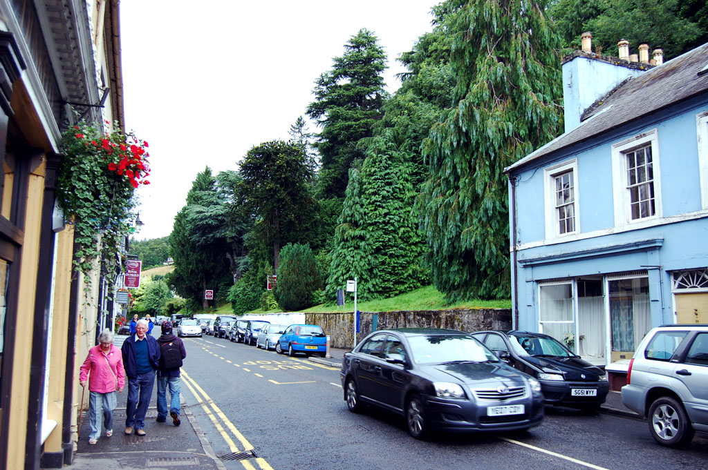 The main street, Dunkeld