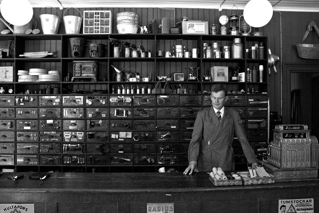 Hardware store of the olden days